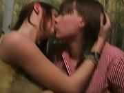 Lesbian teen kissing homemade (compilation)